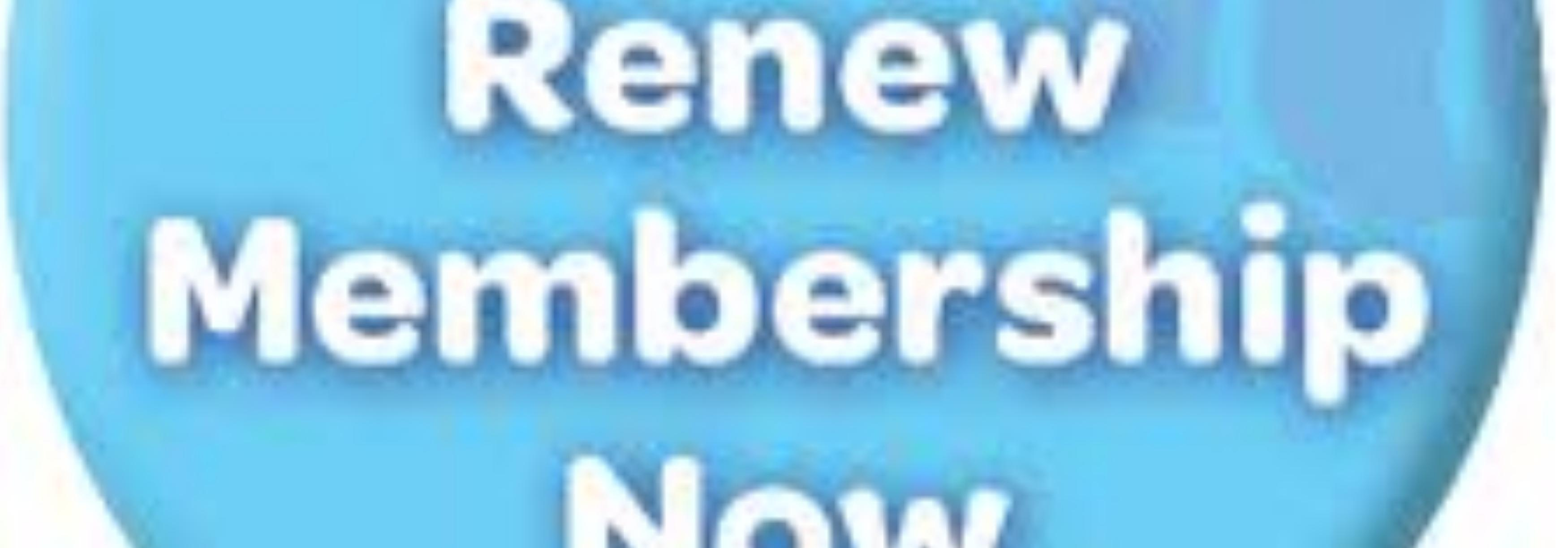 Remember to renew your membership - you won't be able to sign up for events/vote on rule changes until you do
